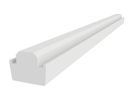 VELUX Kombi-Eindeckrahmen EKY W27 3000 Kombi-Hilfssparren Kiefer Endlackierung klar lackiert 275 cm
