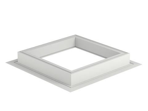 VELUX Flachdach-Fenster ZCE 120120 0015 Adapterkranz zur Aufsetzkranzerhöhung gesamt 30 cm