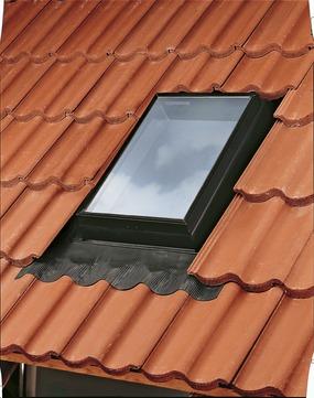 VELUX Ausstiegs-Fenster GVK 0000Z 46x61 cm isolierverglast Schwarz