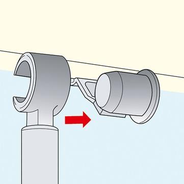 VELUX Solarzubehör ZOZ 040 Adapter für Rollos Bedienungsgriff