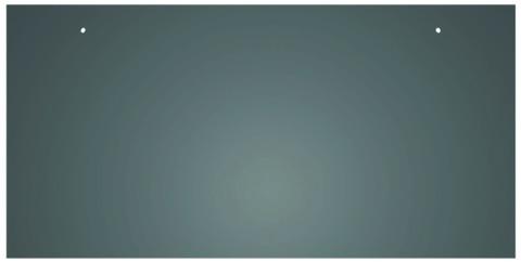 CREATON Dachplatte 30x20 cm waagerecht 4/5 Großpaket glatt Rechtecker für Links- und Rechtsdeckung 2 Loch Kristallweiß