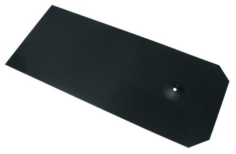 Eternit Dichtungsblech 280x380 mm Dachplatte Solesia Dunkelgrau