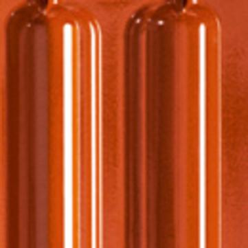 CREATON Ratio Firstanschluss-Lüfter halb Höngeda Finesse Rot glasiert