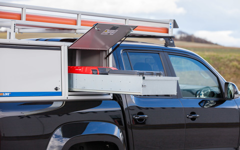 LogicLine Auszugslade Pickup Box für Gefahrgut