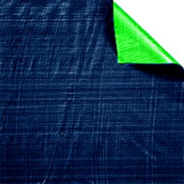 Dörken D-Plan 4x 6 m PE Schutz- und Abdeckplane Blaugrün