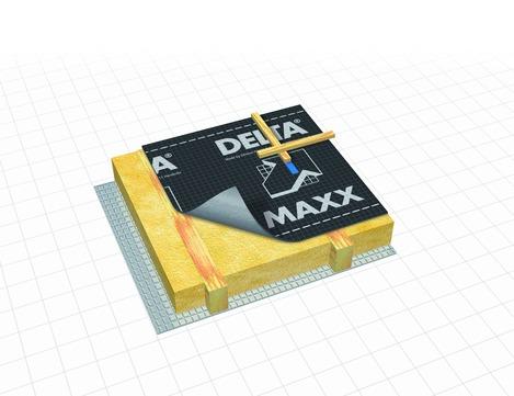 Dörken DELTA-MAXX 50x1,50 m B1 Schwarz