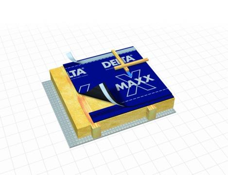Dörken DELTA-MAXX X 50 m x 1,5 m
