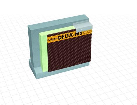 Dörken Delta-MS 8 mm 20x3,0 m Braun