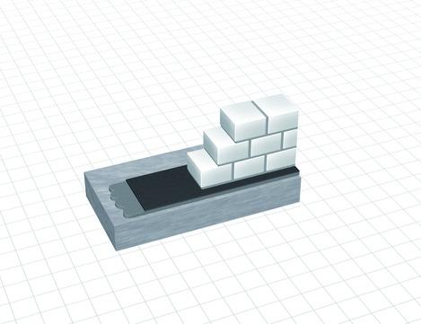 DÖR DELTA-Mauer-Sperre 25x0,175SCHW