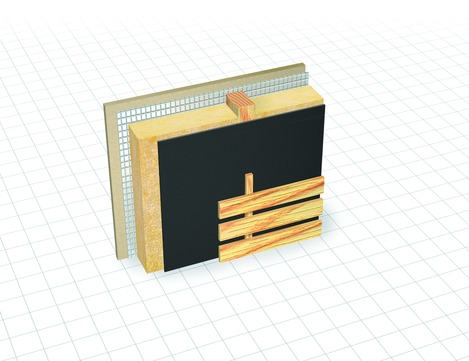 Dörken Delta-Fassade 50x1,50 mm 210 g/m2