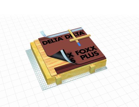 Dörken DELTA-FOXX-PLUS 50x1,50 m Braun
