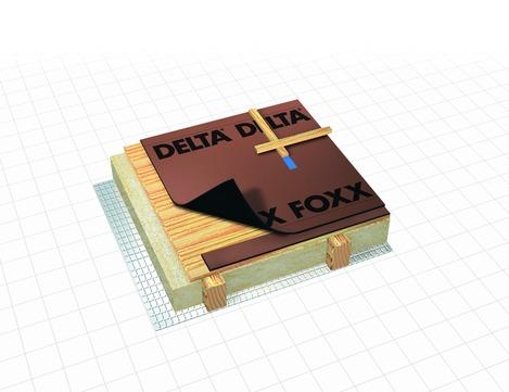 Dörken DELTA-FOXX 50x1,50 m Schalungsbahn Braun