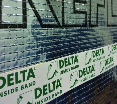 Dörken Delta-Inside Band 60 mm 40 m Klebeband für Dampfsperren innen