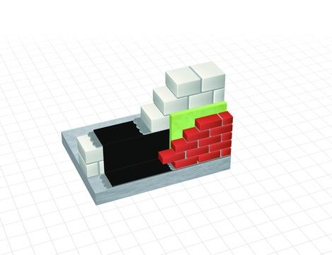 Dörken Delta-Mauer-Sperre 25x0,300 m Softflexx, EPDM Schwarz