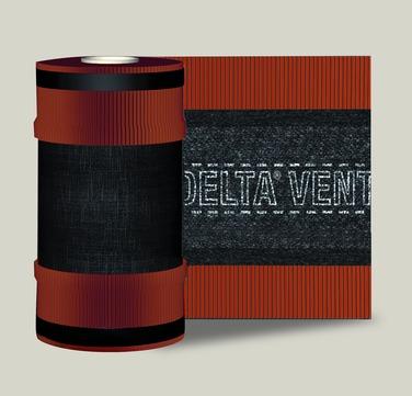Dörken DELTA-VENT ROLL Pro 310 5 m First-/Gratrolle Braun