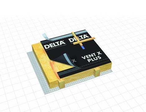 Dörken DELTA-VENT-X Plus 50x1,50 m vierlagig