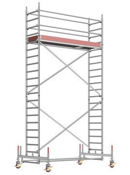 Layher Steigtechnik Fahrgerüst UniStandard 1104 ohne Gerüststütze Alu