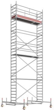 Layher Steigtechnik Fahrgerüst UniStandard 1107 ohne Gerüststütze Alu