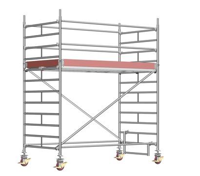 Layher Steigtechnik Fahrgerüst UniBreit 2102 ohne Gerüststütze Alu