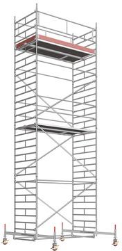 Layher Steigtechnik Fahrgerüst UniBreit 2107 ohne Gerüststütze Alu
