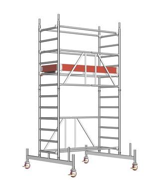 Layher Steigtechnik Fahrgerüst Zifa 623 Alu