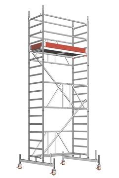 Layher Steigtechnik Fahrgerüst Zifa 624 Alu