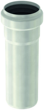 ACO Passavant Abflussrohr Pipe 50x500 mm 1.4301 mit EPDM Doppellippendichtung Edelstahl DIN 1.4301