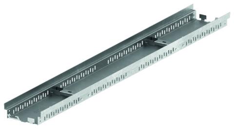 ACO Passavant Profiline Sanierungsdachrinne 0,5 m 38482 Bauhöhe 3,0 cm Verzinkt