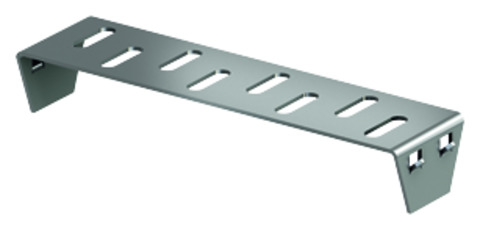 ACO Passavant Profiline Stirnwand 15,5 cm 320438 Bauhöhe 5,0 cm Verzinkt