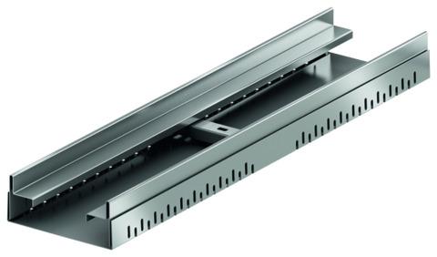ACO Passavant Profiline 15,5 cm Ausgleichselement Mitte 320419 höhenverstellbar 10,8-16,8 cm Verzinkt