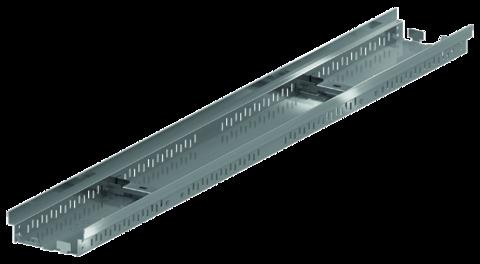 ACO Hochbau Profiline 13 cm 2,0 m mit Kiesleiste ohne Rost Bauhöhe 5,0 cm Edelstahl DIN 1.4301