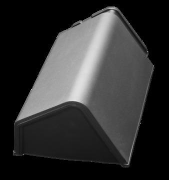 Nelskamp Pult-Firstanfanf universal Unsleben Bronze geflammt