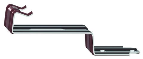 Nelskamp First- und Gratklammer 470/41 mm First/Grat Verzinkt