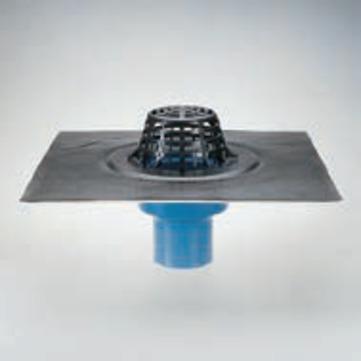 Grumbach Gully Kompakt senkrecht wärmegedämmt 100 mm mit Kiesfangkorb Wolfin