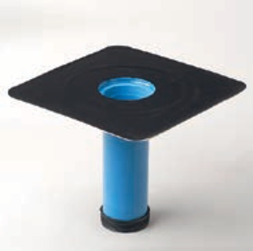 Grumbach Aufstockelement Kompaktgully wärmegedämmt 23 cm mit Rückstausicherung Bitumen