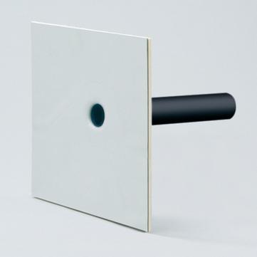 Grumbach Attika Notüberlauf wärmegedämmt DN 70 mm 55 cm Bitumen