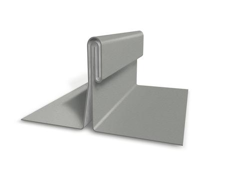 PREFA Band 0,70/1000 mm P. 10 glatt Prefalz circa 32 m 60kg/Rol Zinkgrau