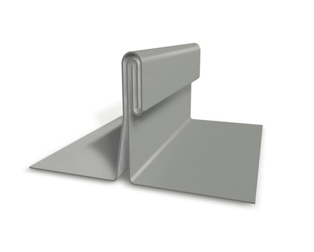 PREFA Band 0,70/500mm P.10 glatt Prefalz 60kg je Rolle ca. 63m Zinkgrau