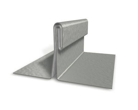 PREFA Band 0,70/650mm P.10 stucco Prefalz 60kg je Rolle ca.49m Zinkgrau