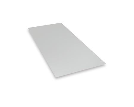 PREFA Tafel 0,70 mm 1000x2000 mm glatt ohne Schutzfolie 3,85 kg/Tafel Blank