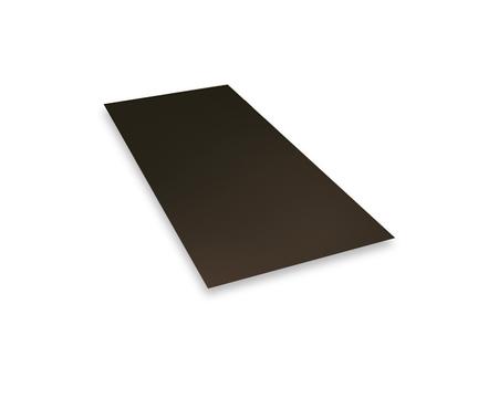 PREFA Tafel 0,70 1000x2000mm glatt Prefalz 3,85kg je Tafel P.10 Nußbraun