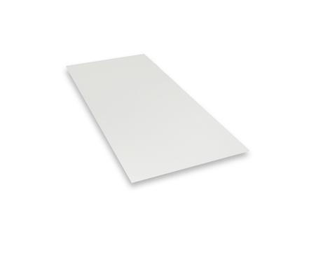 PREFA Tafel 0,70 mm 1000x2000 mm glatt 3,85 kg/Tafel P10 Prefaweiß