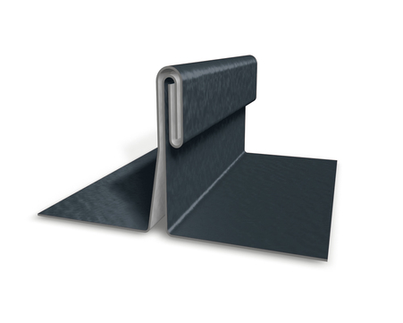 PREFA Band 0,70/ 650 mm P10 stucco Prefalz ca. 407 m 500 kg/Rolle Anthrazit