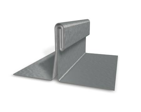 PREFA Band 0,70/ 650 mm P. 10 stucco Prefalz circa 407 m 500kg/Rol Hellgrau