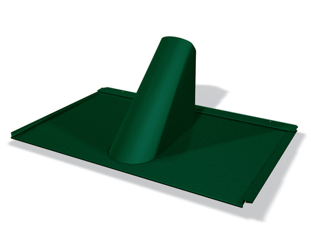 PREFA Einfassungsplatte R.16/FX.12 P.10 Moosgrün