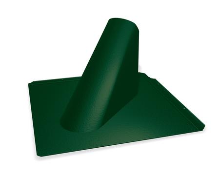 PREFA Einfassungsplatte P. 10 für Dachraute Moosgrün