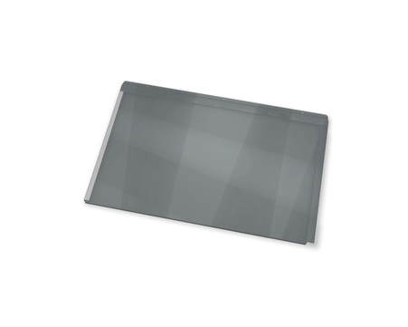 PREFA Dachpaneel FX. 12 klein P. 10 700x420 mm, glatt 8,24 m2 Hellgrau