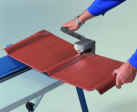 PRE Rillensickenmaschine f.Dachplatten