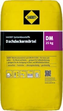 SAKRET Dachdeckermörtel DM 25 kg faserarmiert Grau