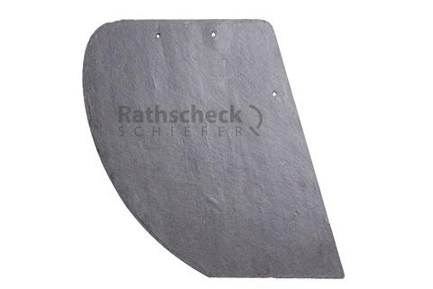 Rathscheck Schiefer Deckung 1/64 normaler Hieb rechts Moselschiefer gelocht < 19 cm Schiefergrube Katzenberg